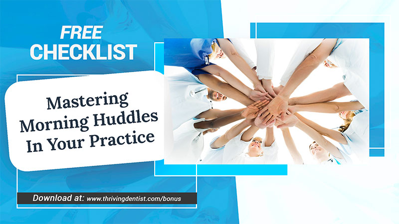Mastering morning huddles in your practice