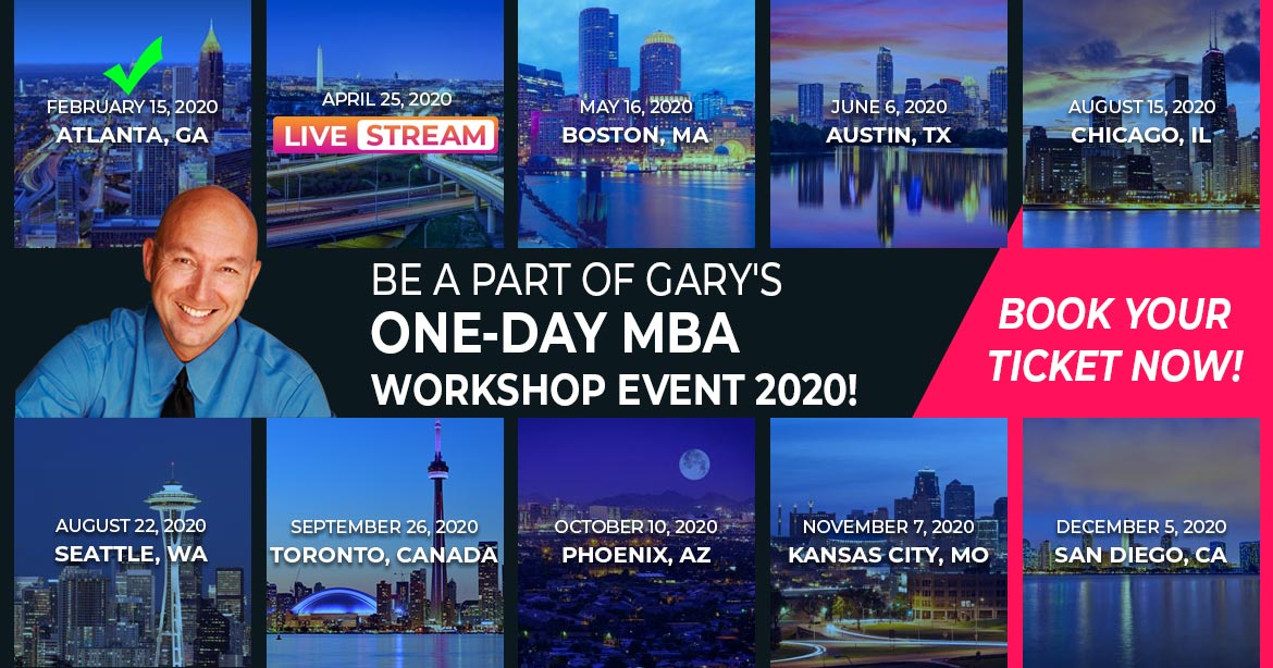 ONE-DAY MBA - BOOK YOUR TICKET NOW