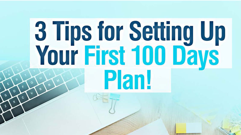 First 100 days plan