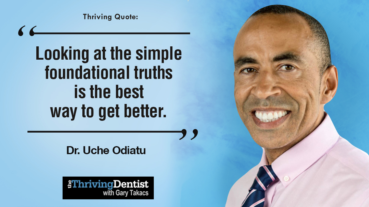 Thriving Quote by Dr. Uche Odiatu