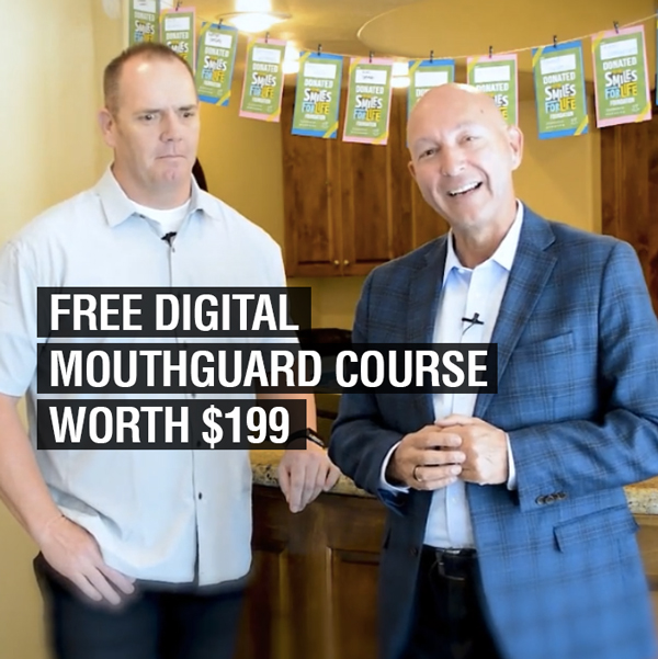 Special Gift – Free Mouthguard Project Course for Thriving Dentist Show Listeners ($199 Value)