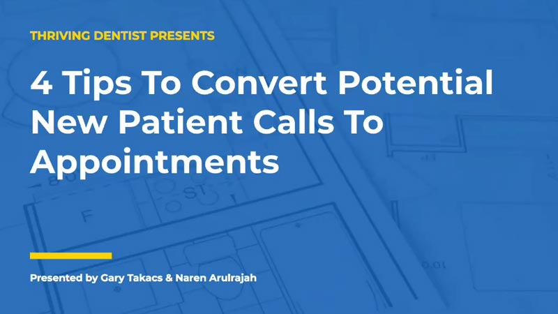 4 Tips to Convert Potential New Patient Calls to Appointments