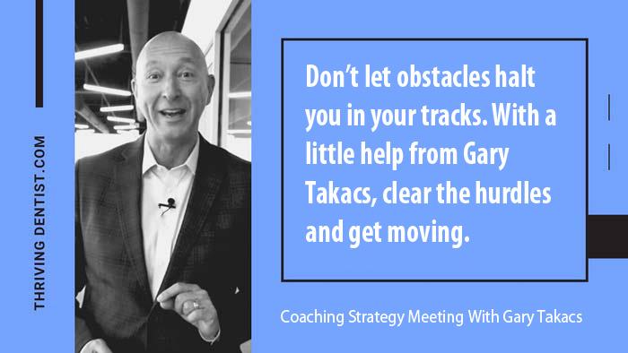 Coaching Strategy Meeting With Gary Takacs