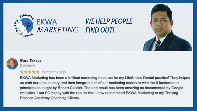 EKWA Marketing - We Help People Find out!